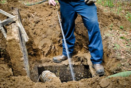 Septic inspection & repair